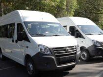 Россия передала кыргызской милиции 15 легковых машин марки и два спринтер