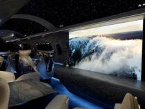 В США представили новый дизайн для салона самолета