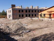 В Ак-Суйском районе строится новая школа