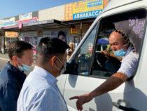 В общественном транспорте Бишкека ведутся рейды
