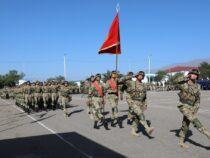 В Кыргызстане проходят военные учения «Рубеж-2021»