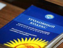 Проект нового УК КР находится на рассмотрении в администрации президента