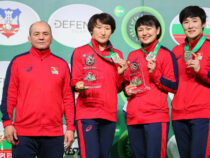 Сборная Кыргызстана поженской борьбе заняла шестое общекомандное место начемпионате мира