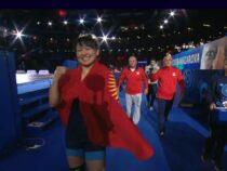 Кыргызстанка Мээрим Жуманазарова выиграла золото чемпионата мира поборьбе