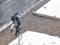Синоптики предупредили бишкекских автомобилистов о мокром снеге и гололедице