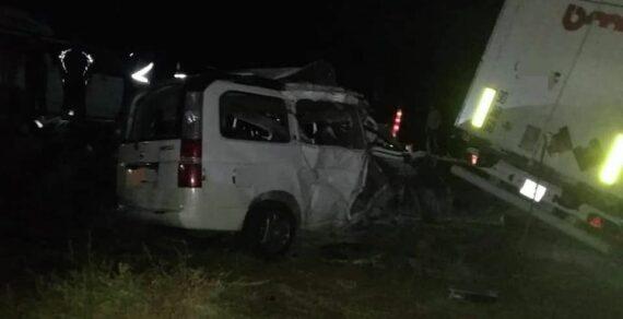 Восемь человек погибли в жуткой аварии в Таласской области