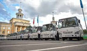 В Бишкеке в понедельник выйдут на линии еще 30 новых автобусов