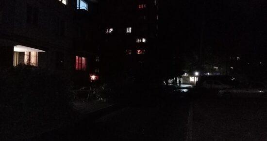 Отключение уличного освещения сказалось наросте преступности вБишкеке