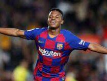 «Барселона» продлит контракт с Анссумане Фати