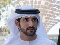 Наследный принц Дубая решил испытать только что открывшееся вэмирате колесо обозрения