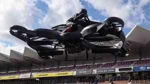 Японский стартап создал летающий мотоцикл