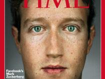 Американский журнал Time поместил на обложку октябрьского номера Марка Цукерберга