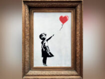 Картину Бэнкси «Девочка с шаром» выставили на продажу