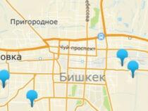 В Бишкеке появилась интерактивная карта строящихся объектов
