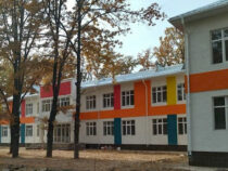 Строительство корпуса к школе №18 в Бишкеке близится к завершению