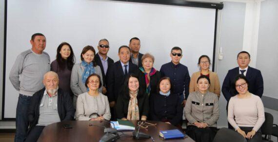 В Бишкеке обсудили актуальные вопросы лиц с инвалидностью