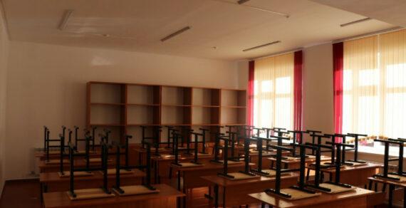 Строительство корпуса кшколе-гимназии №72 в Бишкеке завершается