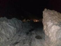 9 человек спасены из снежного плена в Джалал-Абадской области
