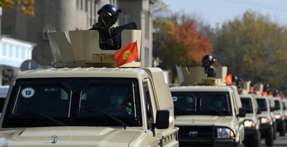 Погранслужбе ГКНБ передали 40 единиц новой военной техники